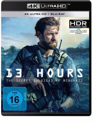 13 Hours - The Secret Soldiers of Benghazi (2016) (4K Ultra HD + Blu-ray)