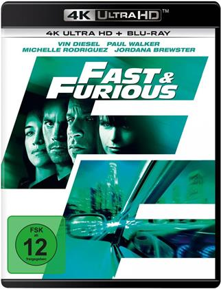 Fast & Furious 4 - Neues Modell. Originalteile. (2009) (4K Ultra HD + Blu-ray)
