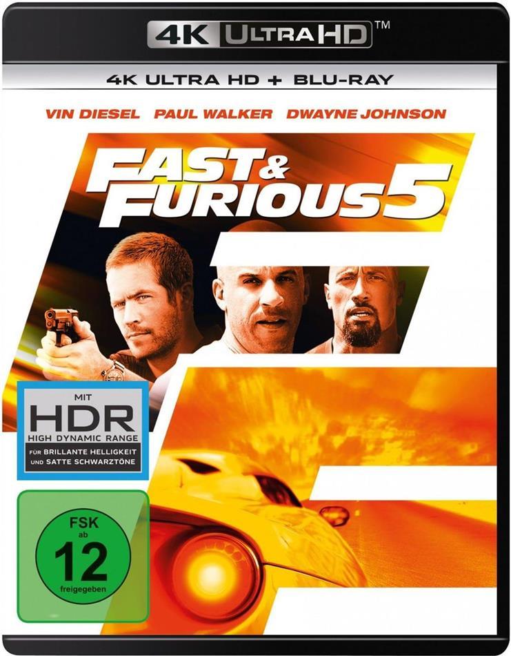 Fast & Furious 5 (2011) (4K Ultra HD + Blu-ray)