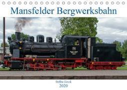 Mansfelder Bergwerksbahn (Tischkalender 2020 DIN A5 quer)