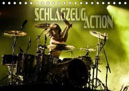 Schlagzeug Action (Tischkalender 2020 DIN A5 quer)