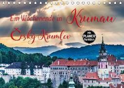 Ein Wochenende in Krumau (Tischkalender 2020 DIN A5 quer)