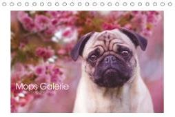 Mops Galerie (Tischkalender 2020 DIN A5 quer)