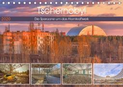 Tschernobyl - Die Sperrzone um das Atomkraftwerk (Tischkalender 2020 DIN A5 quer)