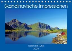 Skandinavische Impressionen - Oasen der Ruhe (Tischkalender 2020 DIN A5 quer)