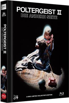Poltergeist 2 - Die andere Seite (1986) (Cover A, Collector's Edition, Limited Edition, Mediabook, Blu-ray + DVD)