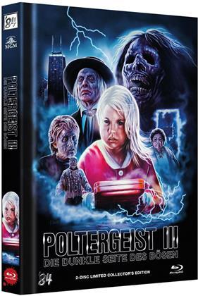 Poltergeist 3 - Die dunkle Seite des Bösen (1988) (Cover C, Limited Edition, Mediabook, Blu-ray + DVD)