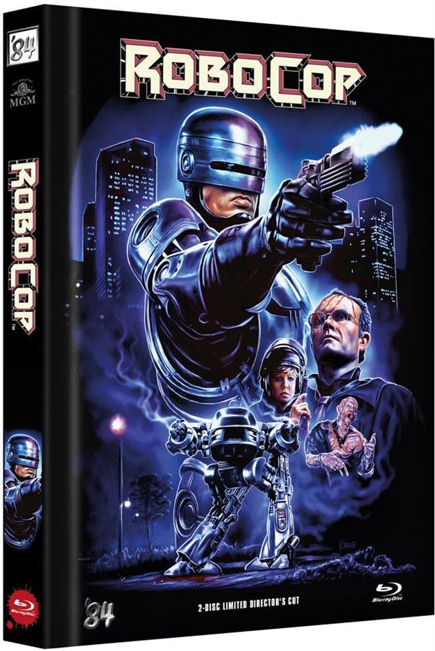 Robocop (1987) (Cover D, Director's Cut, Limited Edition, Mediabook, Blu-ray + DVD)