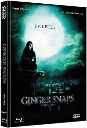 Ginger Snaps 2 - Unleashed (2004) (Cover B, Limited Edition, Mediabook, Blu-ray + DVD)
