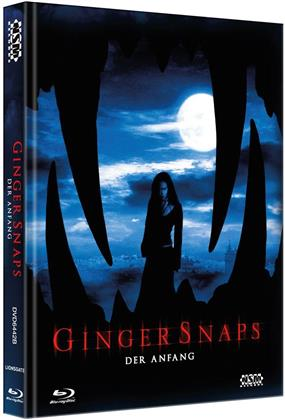 Ginger Snaps 3 - Der Anfang (2004) (Cover B, Limited Edition, Mediabook, Blu-ray + DVD)