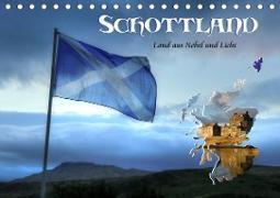 Schottland - Land aus Nebel und Licht (Tischkalender 2020 DIN A5 quer)