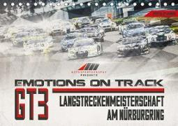 Emotions on Track - Langstreckenmeisterschaft am Nürburgring - GT3 (Tischkalender 2020 DIN A5 quer)