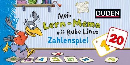 Mein Lern-Memo mit Rabe Linus - Zahlenspiel (Kinderspiel)