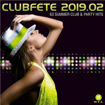 Clubfete 2019.02: 63 Summer Club & Party Hits (3 CDs)