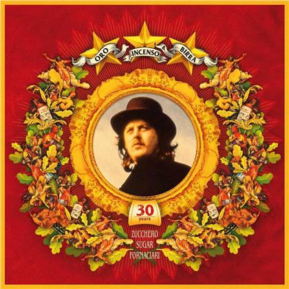 Zucchero - Oro Incenso & Birra (Boxset, 30th Anniversary Edition, Limited Edition, 5 CDs)