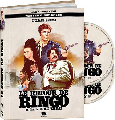 Le retour de Ringo (1965) (Western Europeen, Mediabook, Blu-ray + DVD)