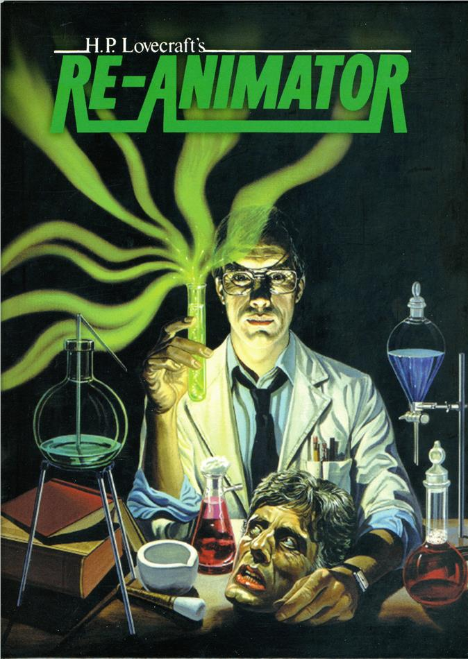 Re-Animator (1985) (Digipack, Version Intégrale, Kinoversion, Limited Edition, 2 Blu-rays)