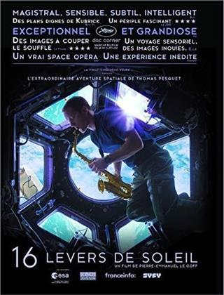 16 levers de soleil (2018) (Blu-ray + DVD)