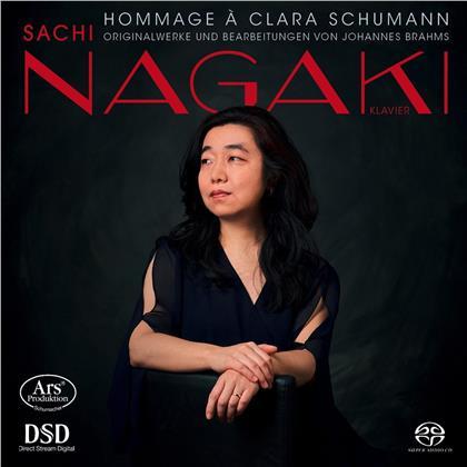Sachi Nagaki, Johannes Brahms (1833-1897) & Johann Sebastian Bach (1685-1750) - Hommage A Clara Schumann (SACD)