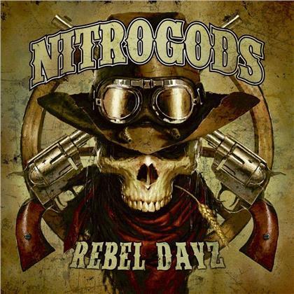 Nitrogods - Rebel Dayz (Limited Edition, Red Vinyl, LP)