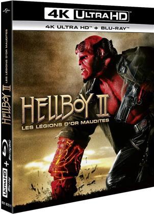 Hellboy 2 - Les légions d'or maudites (2008) (4K Ultra HD + Blu-ray)
