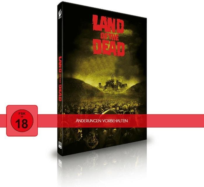 Land of the Dead (2005) (Cover C, Director's Cut, Versione Cinema, Edizione Limitata, Mediabook, 2 Blu-ray)