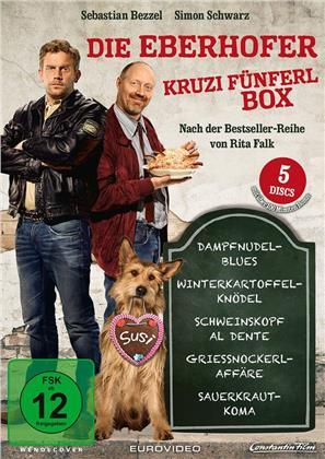 Die Eberhofer Kruzifünferl Box - Dampfnudelblues / Winterkartoffelknödel / Schweinskopf al dente / Griessnockerlaffäre / Sauerkrautkoma (5 DVDs)