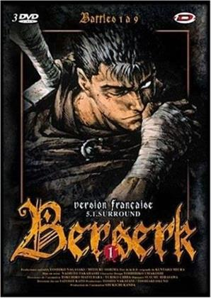 Berserk - Coffret 1 - Battles 1 à 9 (3 DVD)