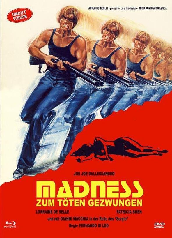 Madness - Zum töten gezwungen (1980) (Cover A, Limited Edition, Mediabook, Uncut, Blu-ray + DVD)