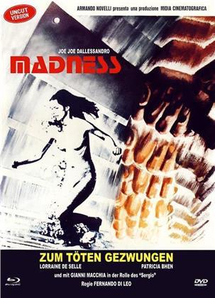 Madness - Zum töten gezwungen (1980) (Cover B, Limited Edition, Mediabook, Uncut, Blu-ray + DVD)