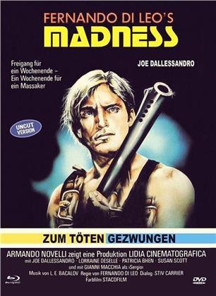 Madness - Zum töten gezwungen (1980) (Cover C, Limited Edition, Mediabook, Uncut, Blu-ray + DVD)