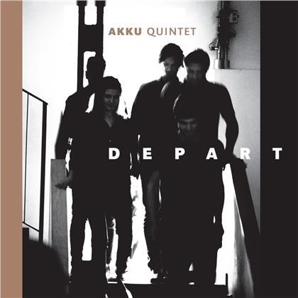 Akku Quintett - Depart (LP)