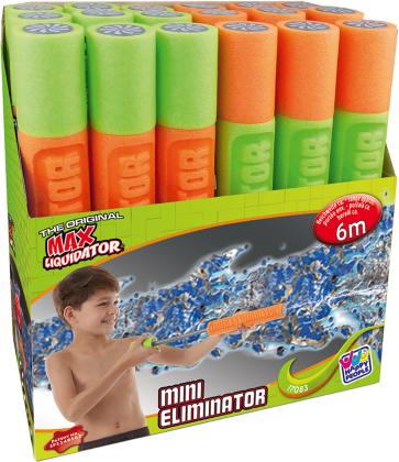Wasserspritze Mini Eliminat. - Max Liquidator, 33 cm, ø, 1 Stück, Assortiert.