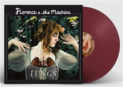 Florence & The Machine - Lungs (2019 Reissue, Limited, 10th Anniversary Edition, Red Vinyl, LP)