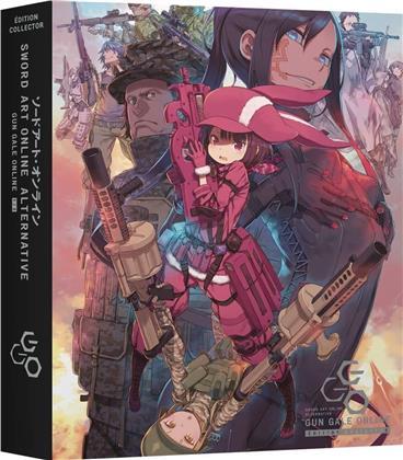 Sword Art Online Alternative - Gun Gale Online - Partie 1/2 (Collector's Edition, 2 Blu-rays)