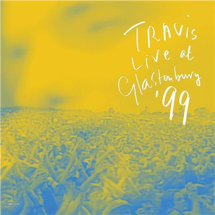 Travis - Live At Glastonbury (Blue Vinyl, 2 LPs)