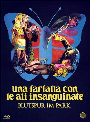Una farfalla con le ali insanguinate - Blutspur im Park (1971) (Italian Genre Cinema Collection, Digibook, Limited Edition, Blu-ray + DVD)