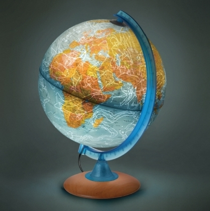 Nacht und Tag-Globus (ND 2525)