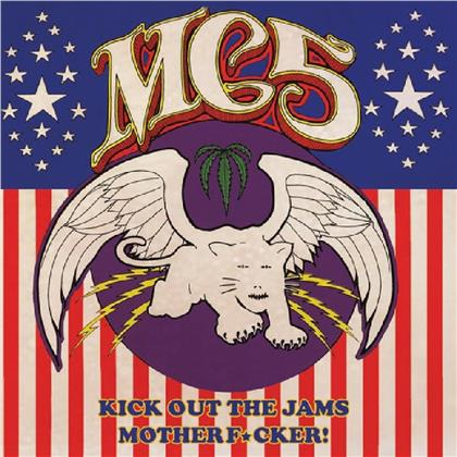 MC5 - Kick Out The Jams Motherfucker! (2019 Reissue, Cleopatra, Limited Edition, Gold Colored Vinyl, LP)
