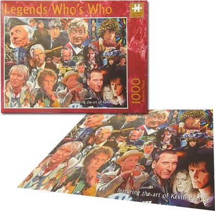 Doctor Who - Doctor Who (1000 Piece Deluxe Jigsaw)