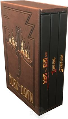 From Dusk Till Dawn - Trilogy (Leatherbook, Edizione Limitata, Mediabook, Uncut, 4 Blu-ray)