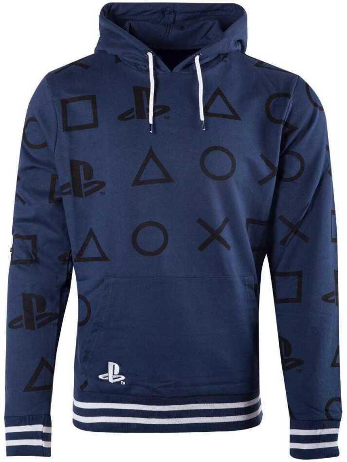 Playstation - AOP Icons Men's Hoodie - Grösse M