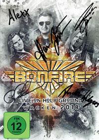 Bonfire - Live On Holy Ground - Wacken 2018