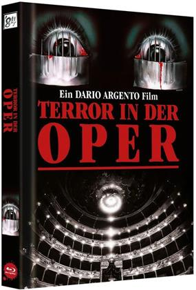 Opera (1987) (Cover C, 30th Anniversary Limited Edition, Langfassung, Mediabook, Remastered, 2 Blu-rays + 2 DVDs)