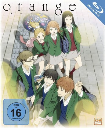 Orange - Die komplette Serie (Gesamtedition, 3 Blu-rays)