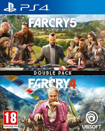 Far Cry 4 + Far Cry 5 Double Pack