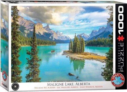 Maligne Lake, Alberta - Puzzle