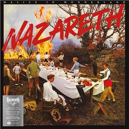 Nazareth - Malice In Wonderland (2019 Reissue, Salvo Edition, Limited Edition, Red Vinyl, LP)
