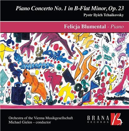 Peter Iljitsch Tschaikowsky (1840-1893), Michael Gielen, Felicja Blumental & Orchester Der Wiener Musikgesellschaft - Piano Concerto No. 1 (LP)