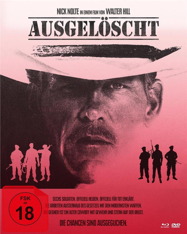Ausgelöscht (1987) (Cover B, Collector's Edition, Mediabook, Blu-ray + DVD)